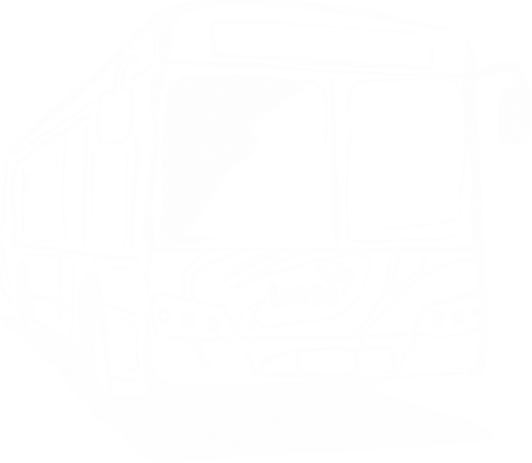 a simple illustrative outline of a Leeto Bus
