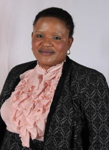 An image of councillor Francina Kubjana, MMC for Roads Transport and Stormwater